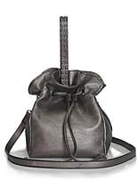 baratos -Mulheres Bolsas PU Bolsa de Ombro Ziper Bronze / Marron / Marron Escuro