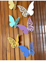 abordables -Déco de Mariage Unique Papier nacre Décorations de Mariage Mariage / Anniversaire Thème jardin / Thème papillon / Mariage Toutes les Saisons
