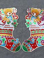 Недорогие -Подарки Новогодняя тематика / Мультяшная тематика PVC Мультипликация Рождественские украшения