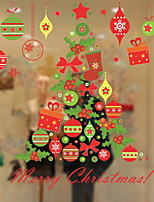 cheap -Window Film & Stickers Decoration Contemporary / Christmas Holiday PVC(PolyVinyl Chloride) Cool