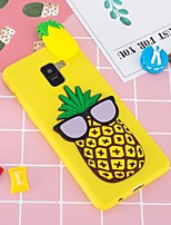 cheap -Case For Samsung Galaxy A8 Plus 2018 / A6+ (2018) Pattern / DIY Back Cover Fruit Soft TPU for A5(2018) / A6 (2018) / A6+ (2018)