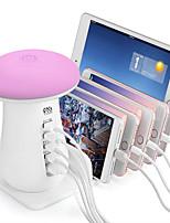 Недорогие -YWXLIGHT® LED Night Light Тёплый белый / Холодный белый От электросети Сенсорный датчик / С портом USB / прикроватный