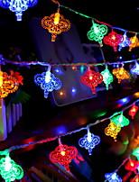 abordables -10m Guirlandes Lumineuses 52 LED Plusieurs Couleurs Décorative / Adorable 220-240 V 1 set