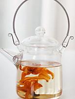 Недорогие -стекло Heatproof / Телесный / Чайный нерегулярный 1шт чайник