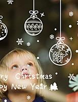 Недорогие -Рождество Праздник PVC Квадратный Для вечеринок / Оригинальные Рождественские украшения