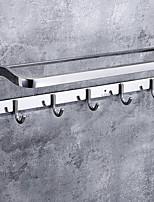 billiga -Handduksstång Ny Design Nutida Rostfritt stål / järn 1st Dubbel Väggmonterad
