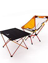 cheap -BEAR SYMBOL Camping Folding Chair / Camping Table Outdoor Lightweight, Anti-Slip, Breathability Oxford Cloth, 7075 Aluminium for Fishing / Camping Orange