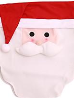Недорогие -Рождественские украшения Новогодняя тематика / Праздник Полиэстер Прямоугольный Оригинальные Рождественские украшения