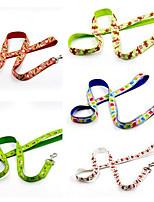 cheap -Dogs / Cats Leash Portable / Foldable Color Block / Christmas Nylon White / Green / Blue