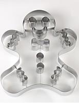 Недорогие -Инструменты для выпечки Нержавеющая сталь Очаровательный Печенье Пивные инструменты 1шт
