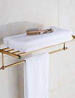 Недорогие -Держатель для полотенец Новый дизайн Современный Латунь 1шт Двуспальный комплект (Ш 200 x Д 200 см) На стену