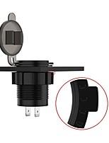 Недорогие -Мотоцикл Автомобильное зарядное устройство 2 USB порта для 5 V