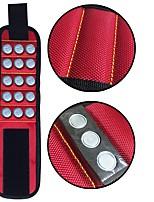 economico -Poliestere per contenere viti, chiodi, punte da trapano con forti magneti Polsino magnetico