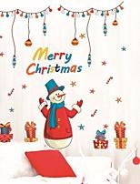 Недорогие -Оконная пленка и наклейки Украшение Рождество Праздник / Персонажи ПВХ Очаровательный / Новый дизайн