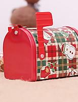 baratos -Natal Férias Plástico e metal Rectângular Novidades Decoração de Natal