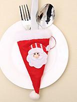 Недорогие -Плащи Новогодняя тематика / Праздник Нетканый материал куб Оригинальные Рождественские украшения