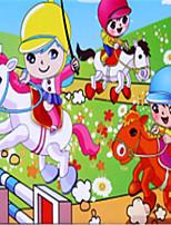 baratos -Quebra-Cabeças de Madeira Carruagem Fabricado à Mão / Brinquedos de descompressão De madeira 1 pcs Crianças / Adolescente Dom