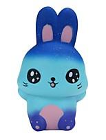 Недорогие -Резиновые игрушки Устройства для снятия стресса Rabbit Животные Стресс и тревога помощи Товары для офиса Поливинилхлорид 1 pcs Дети Игрушки Подарок