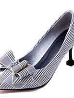 Недорогие -Жен. Комфортная обувь Полиуретан Весна Обувь на каблуках На шпильке Желтый / Зеленый