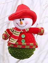 Недорогие -Орнаменты Мультяшная тематика Ткань Мультфильм игрушки Рождественские украшения
