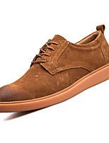 Недорогие -Муж. Комфортная обувь Полиуретан Осень На каждый день Кеды Водостойкий Черный / Серый / Коричневый