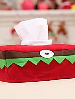 Недорогие -Хранение новогодних аксессуаров Новогодняя тематика Ткань Прямоугольный Оригинальные Рождественские украшения