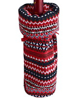 cheap -Wine Bags & Carriers Christmas / Holiday Fabric Cube Party / Novelty Christmas Decoration