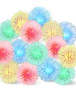 baratos -10m Cordões de Luzes 100 LEDs Multicolorido Fofo / Adorável 110-120 V 1conjunto