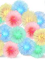 baratos -5m Cordões de Luzes 40 LEDs Multicolorido Decorativa / Adorável Baterias alimentadas 1conjunto