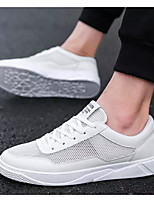 Недорогие -Муж. Комфортная обувь Сетка Весна & осень Кеды Белый / Черный / Красный