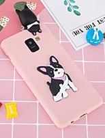 cheap -Case For Samsung Galaxy A8 Plus 2018 / A6+ (2018) Pattern / DIY Back Cover Dog Soft TPU for A5(2018) / A6 (2018) / A6+ (2018)