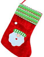 Недорогие -Чулки Праздник Ткань куб Оригинальные Рождественские украшения