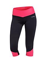 economico -Per donna Tasche Pantaloni a 3/4 da corsa Gli sport Monocolore Elastene 3/4 Collant/Corsari Yoga, Fitness, Allenarsi Abbigliamento sportivo Asciugatura rapida, Traspirante, Compressione Elevata