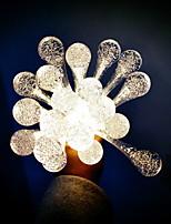baratos -1.5m Cordões de Luzes 10 LEDs Branco Novo Design / Decorativa / Conetável Baterias AA alimentadas 1conjunto