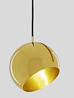 baratos -Circular Luzes Pingente Luz Ambiente Liga de Zinco Metal Criativo 110-120V / 220-240V Lâmpada Não Incluída / E26 / E27