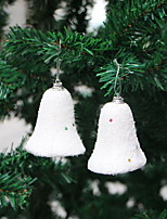 Недорогие -Рождественские украшения Праздник / Новогодняя ёлка пластик куб Мультипликация Рождественские украшения