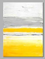 baratos -Pintura a Óleo Pintados à mão - Abstrato Tradicional / Modern Tela de pintura
