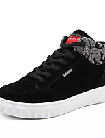 Недорогие -Муж. Комфортная обувь Полиуретан Осень На каждый день Кеды Доказательство износа Черный / Серый
