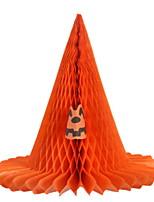 Недорогие -Праздничные украшения Украшения для Хэллоуина Хэллоуин Развлекательный Декоративная / Cool Черный / Оранжевый 1шт