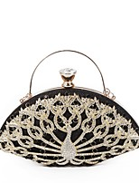 cheap -Women's Bags PU(Polyurethane) Evening Bag Crystals / Hollow-out Animal Red / Purple / Silver