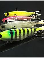 Недорогие -4 pcs штук Рыболовная приманка Мягкие приманки ABS Прост в применении Морское рыболовство / Ловля нахлыстом / Ловля на приманку