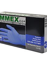 Недорогие -100шт нитрил Перчатка Защитные перчатки Безопасность и защита Дышащий