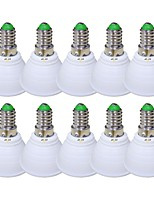 cheap -EXUP® 10pcs 5 W 450 lm E14 LED Spotlight 1 LED Beads COB 85-265 V