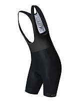 cheap -Nuckily Women's Cycling Bib Shorts Bike Bib Shorts / Padded Shorts / Chamois / Bottoms Quick Dry Solid Colored White / Black Bike Wear