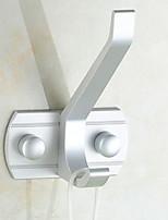 Недорогие -Крючок для халата Новый дизайн / Многофункциональный Modern Алюминий 1шт На стену