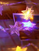 Недорогие -10 м Гирлянды 100 светодиоды Разные цвета Декоративная / обожаемый 220-240 V 1 комплект