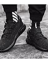 Недорогие -Муж. Комфортная обувь Сетка Лето Кеды Белый / Черный / Хаки
