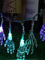 baratos -2,5 m Cordões de Luzes 20 LEDs Multicolorido Novo Design / Decorativa / Legal Baterias AA alimentadas 1conjunto