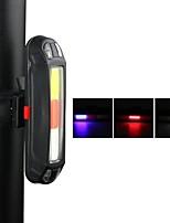 baratos -Luzes da cauda LED Luzes de Bicicleta Ciclismo Impermeável, Ajustável, Anti-Choque Bateria de Lítio 10 lm mi.xim