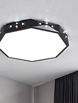 abordables -Circulaire Montage du flux Lumière d'ambiance Finitions Peintes Métal Tricolore 220-240V Blanc chaud + blanc Source lumineuse de LED incluse / LED Intégré